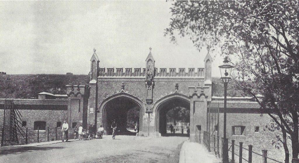 Фридландские ворота в 1920 году