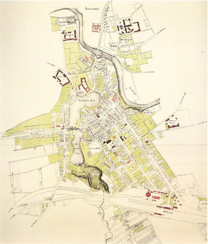 Черняховск - Инстербург 1889 год