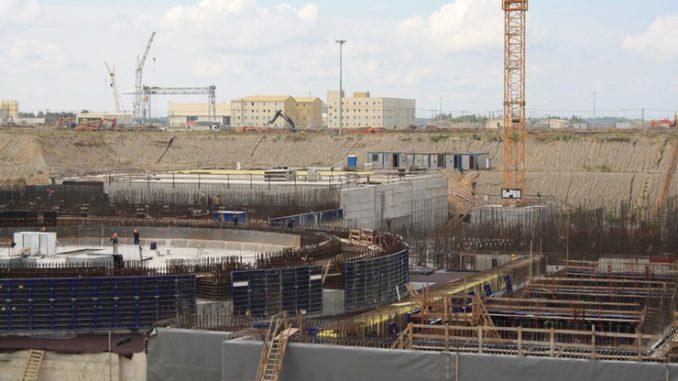 Строительство Балтийской АЭС 2017 год