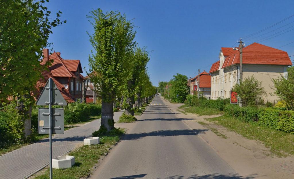 Улица поселка Янтарный